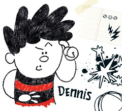 Beano character Dennis the Menace