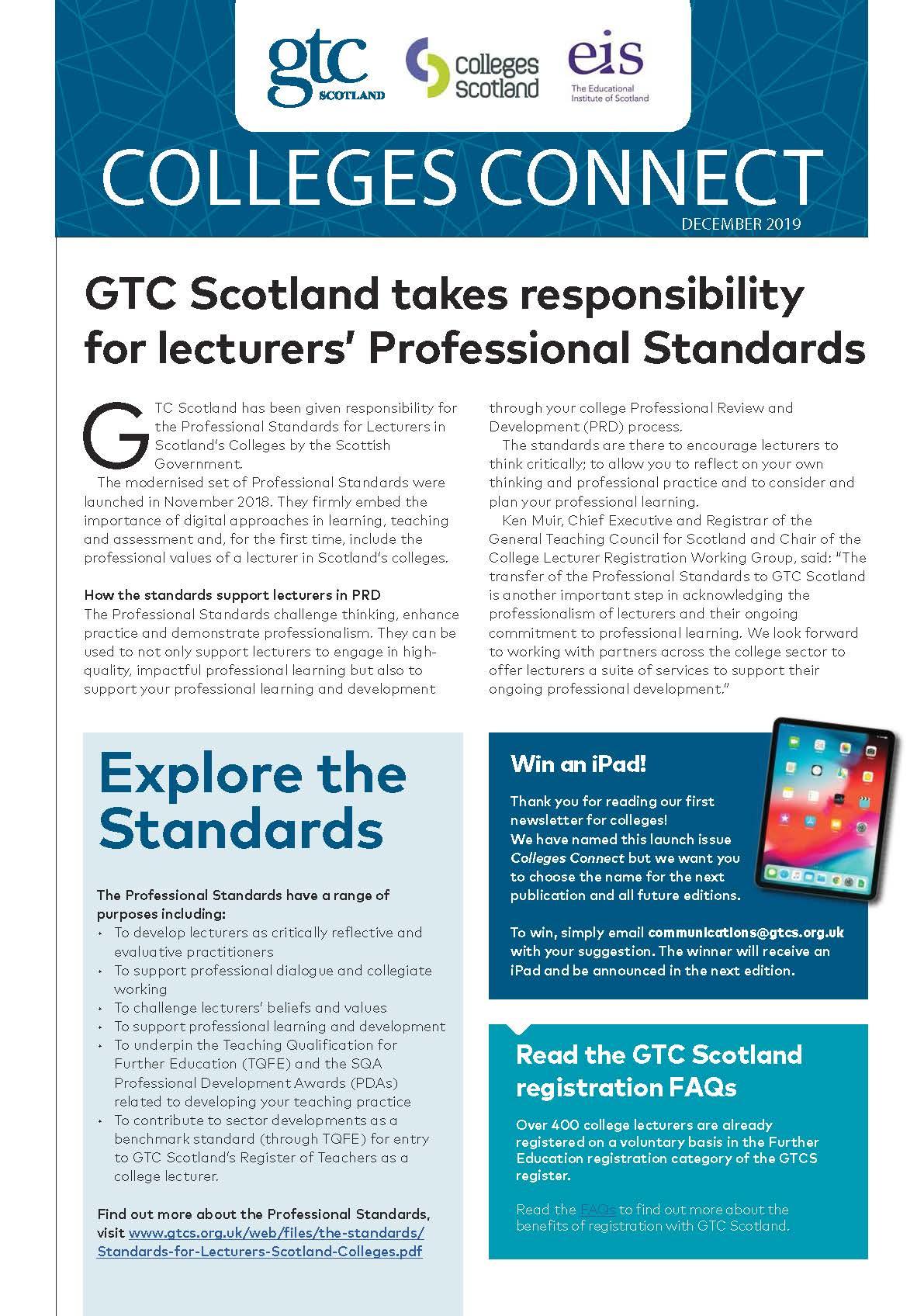 GTCS Colleges ezine December 2019 cover.pdf